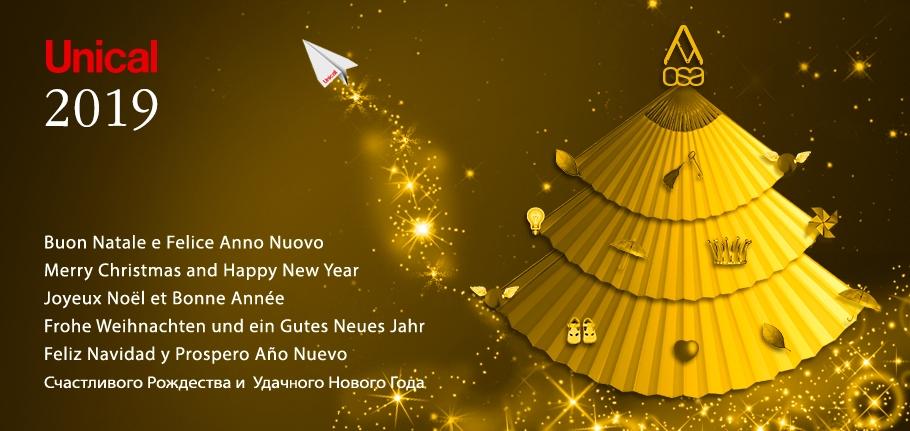 Buon Natale E Felice Anno Nuovo Unical Ag Spa