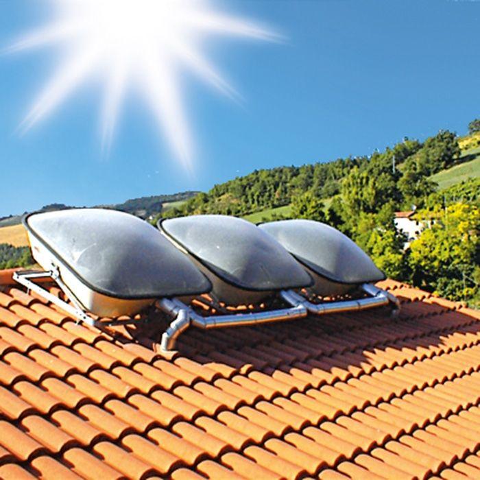 Pannello Solare Termico Accumulo Diretto : Sunbuster unical ag s p a